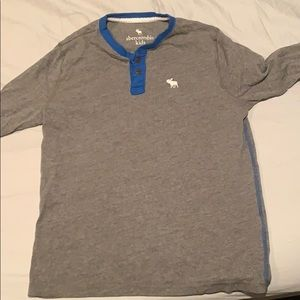 Long sleeve 2 button t-shirt from Abercrombie